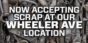 now accepting scrap at our Wheeler Ave location instead of at D's U Pull It on Bush Street